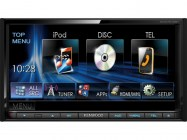Kenwood DDX7015BT 7.0 coll WVGA, DVD receiver bluetooth-al