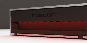 MOSCONI AS erősítő világító oldallappal